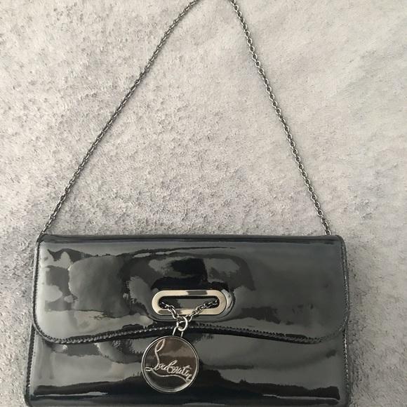 Christian Louboutin Handbags - Christian Louboutin Patent Leather Clutch